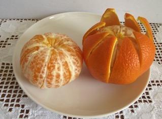 Narancsok tisztítása