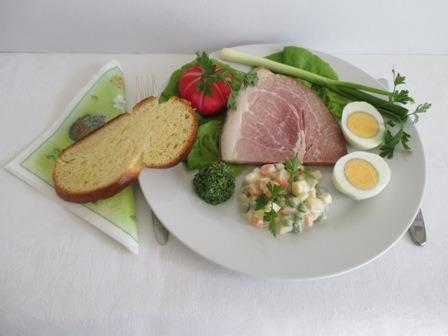 Húsvéti tányér