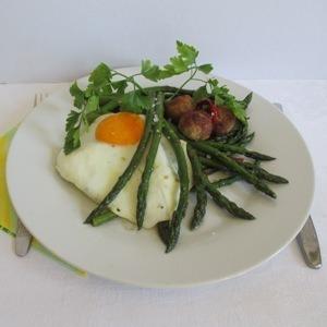 Zöld spárga recept