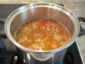 Lencse leves berántva