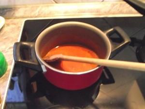 Lencse leves - rántás3
