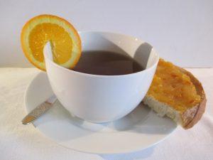 Narancsdzsem teához