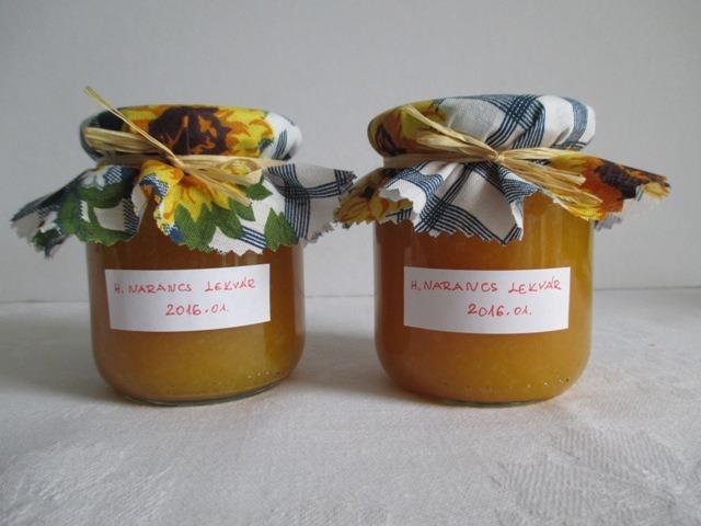 Narancslekvár készítése – módszerek