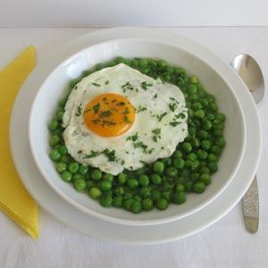 Zöldborsó főzelék