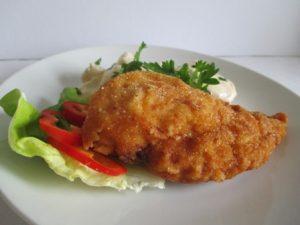 Ételek csirkéből: kijevi csirkemell