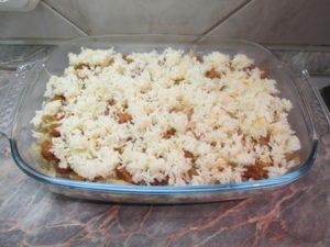 Harmadik réteg: rizs