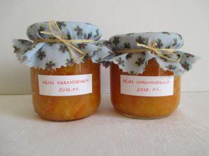 Héjas narancsdzsem készen
