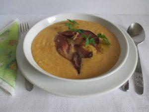 Sárgaborsó főzelék sonkával