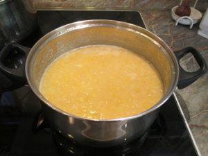 Sárgaborsó főzése