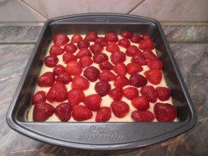 Epres szelet sütés előtt
