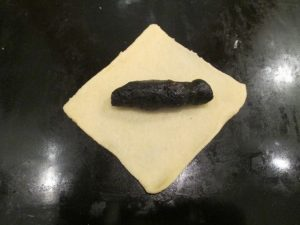 Mákos kifli formázása 1