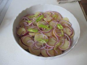 Főtt krumpli lerakása 3
