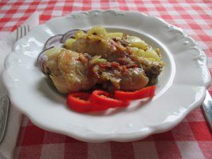 Lecsós csirkecomb 1