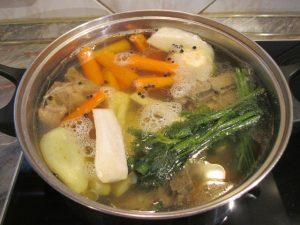 Húsleves orjacsontból zöldségekkel 1