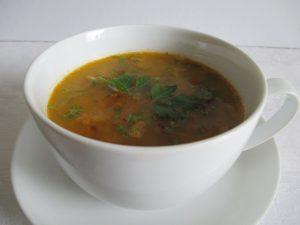 Vöröslencse leves 1