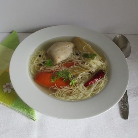 Csirkehúsleves