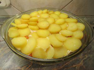 Krumpli felső réteg
