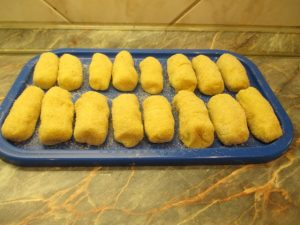 Krumplis tészta formázva 1