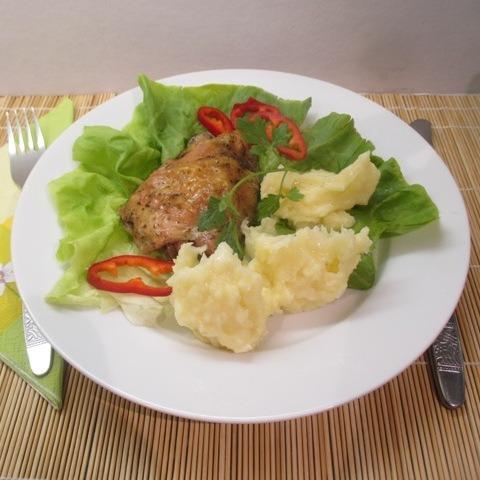Sült csirkecombok