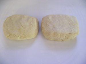 Tészta két darabban