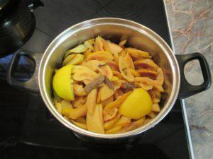 Birsalma főzése citrommal 1