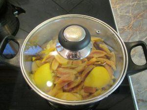 Birsalma főzése citrommal 2