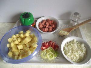 Paprikás krumpli hozzávalók