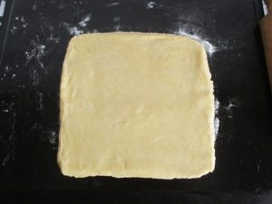 Pite tészta kinyújtva