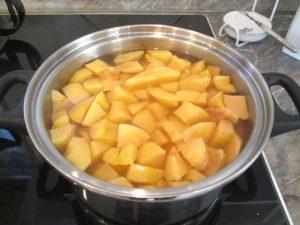 Birsalma főzés 1