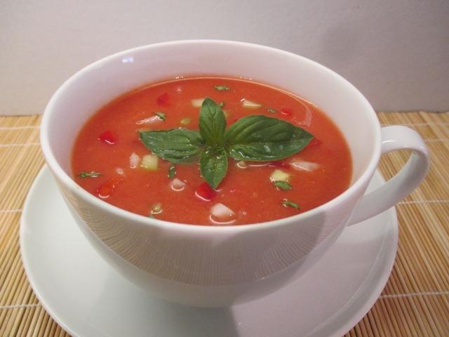 Gazpacho csészében 2