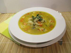 Zöldségleves kuszkusszal 1