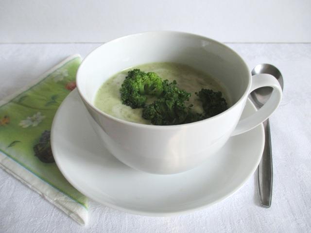Brokkoli krémleves 1