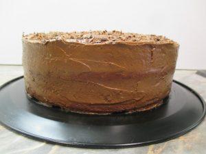 Torta oldala burkolva