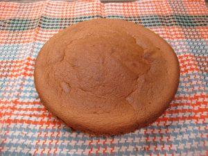Torta kakaós piskóta tésztája