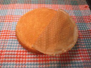 Torta sima piskóta tésztája