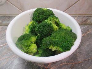 Brokkoli rózsák blansírozva