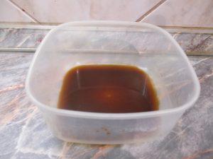 Kávé-rum-cukor keverék