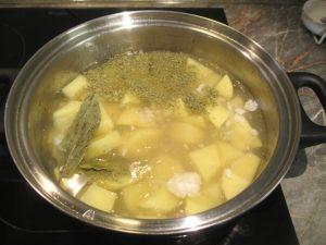 Krumpli fűszerekkel