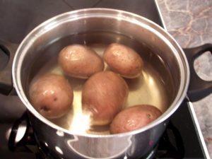 Krumpli főzés