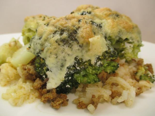 Rakott brokkoli tálalása 2