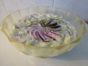 Cukkini saláta 1