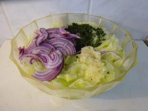 Saláta összetevők 1
