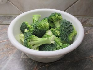 Blansírozott brokkoli