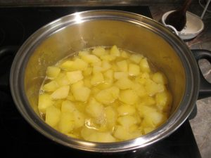 Krumpli főzése