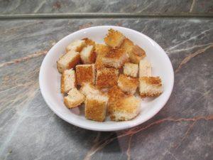 Kruton pirított kenyérből