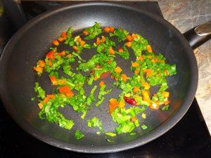 Zöldségek pirítása 1