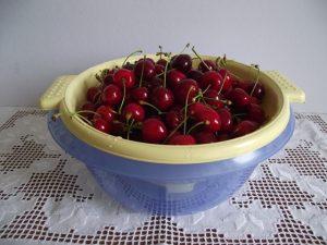 Cseresznye megmosva