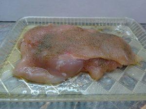Csirkemell szeletek