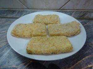 Panírozott sajt