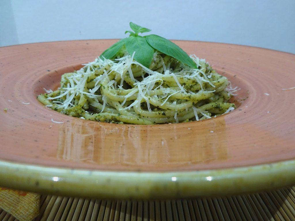 Pestos spagetti 1
